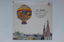 A. Soler - 6 concerten voor 2 orgels / Marie-Claire Alain (LP)