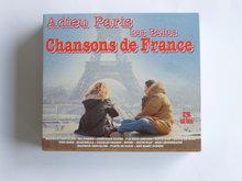 Adieu Paris Les belles Chansons de France (3 CD)