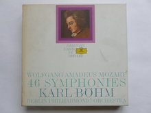Mozart - 46 Symphonies / Karl Böhm (15 LP)