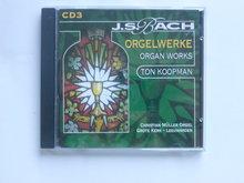 Bach - Orgelwerke vol 3 / Ton Koopman
