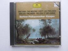Smetana - The  Moldau , Liszt, Sibelius / Karajan