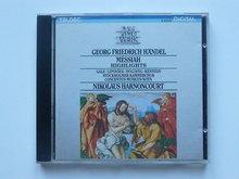 Handel - Der Messias / Nikolaus Harnoncourt